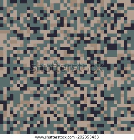 usmc digital camo pattern vector
