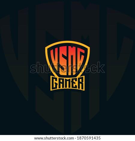 usmc gamer esport logo font