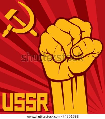 ussr fist