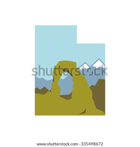 utah national park logo
