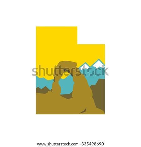 utah national park logo
