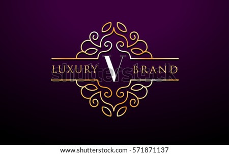Calligraphy letter v designs styles of letter v calligraphy luxury letter v logo concept design in golden color download thecheapjerseys Choice Image