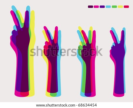 Peace Sign Vector - Download Free Vector Art, Stock Graphics & Images