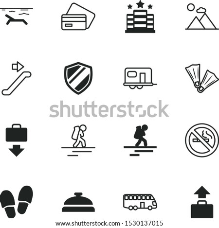 vacancy vector icon set such as