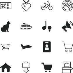 vacancy vector icon set such as: landscape, face, kitty, sand, addiction, coastline, activity, toxic, break, play, love, pictogram, warning, locket, cigarette, relaxation, drawing, residence, seaside