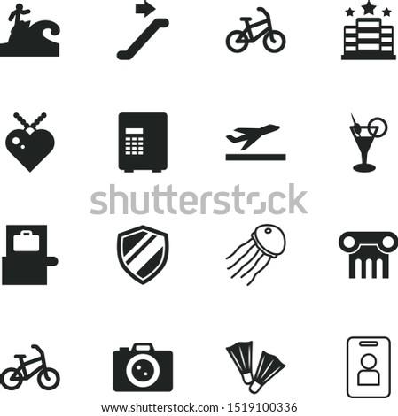 vacancy vector icon set such as