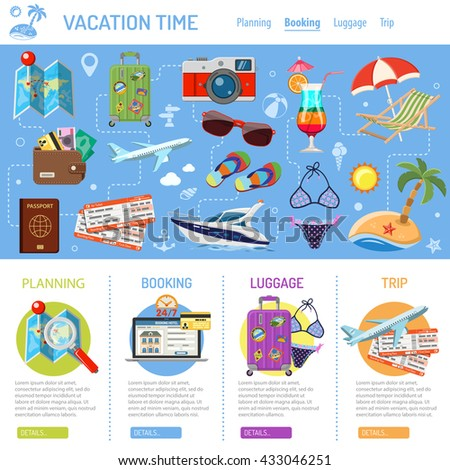 vacation and tourism
