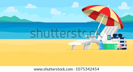 vacation and travel concept