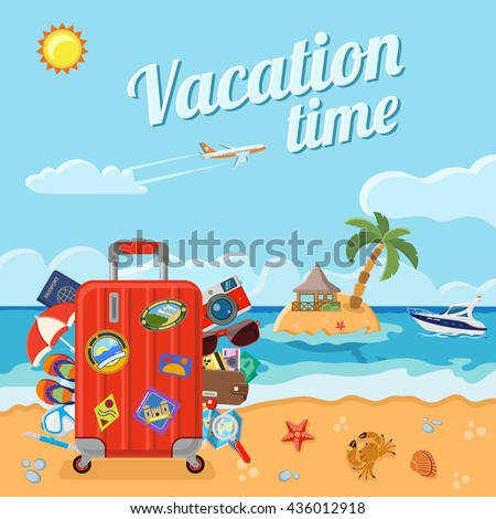vacation  tourism and summer