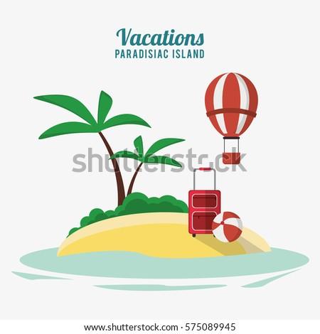 vacations paradisiac island