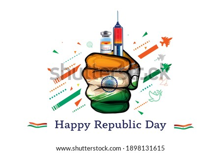 vaccine. take vaccine. enhance Immunity. vaccination time. Fight covid 19 corona virus, strong immunity background, ideas concept, success of Indian independence day 15 August freedom fighter Day