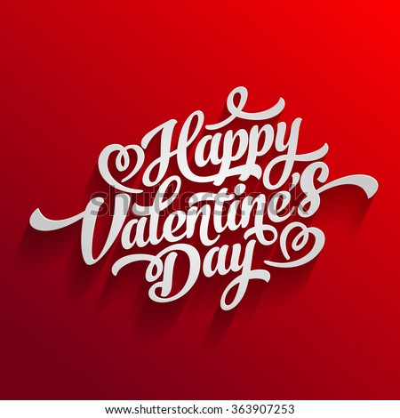 valentin day happy vector text card typography heart banner design joyful valentines day nails sketch vector writing design valentin day happy vector text card typography heart banner design love clas Stock photo ©