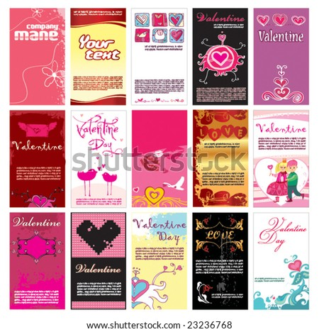valentin s day cards templates