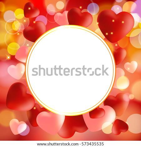 Valentine. Background.