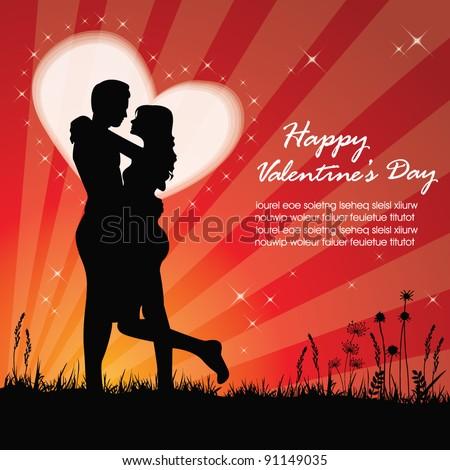valentine background with