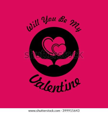 valentine card icon eps 10
