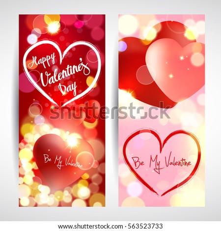 Valentine. Cards.