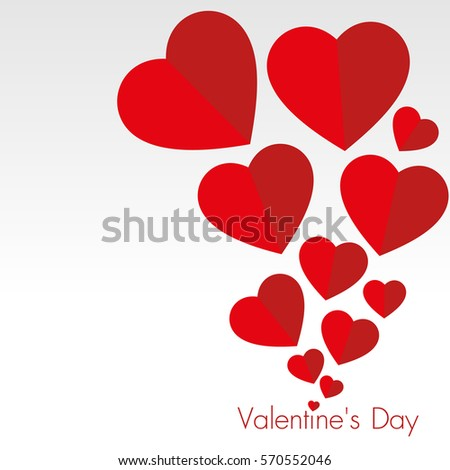 valentine day background with