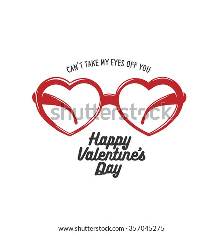 valentine day card with heart