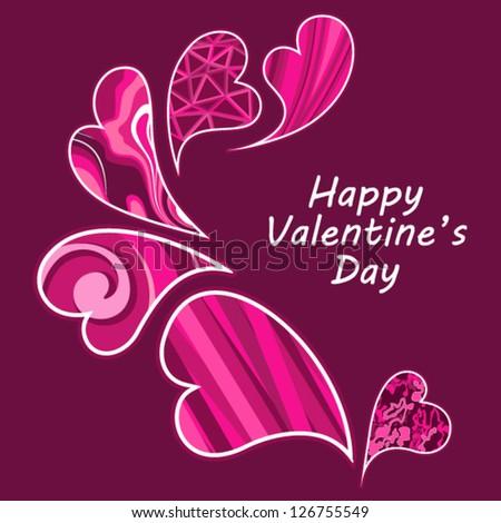 Valentine day love beautiful