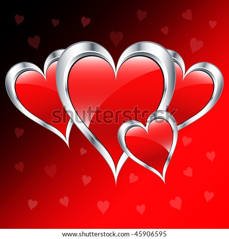 stock-vector-valentine-day-love-hearts-in-silver-and-red-set-on-a-romantic-background-raster-also-available-45906595.jpg