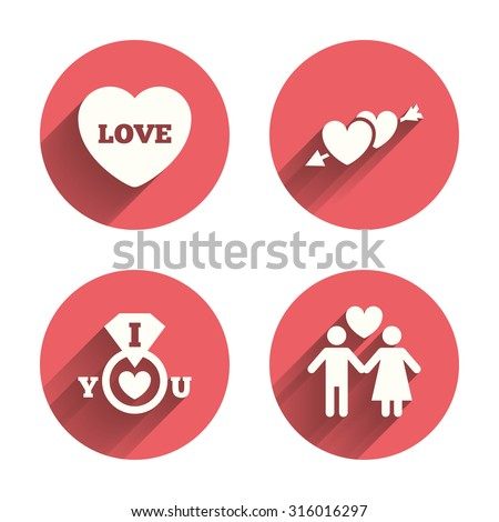 valentine day love icons i