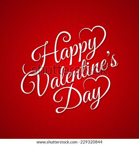 valentine day vintage lettering background