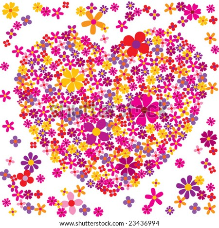 Valentine flowers (visit our gallery for more valentine vectors).