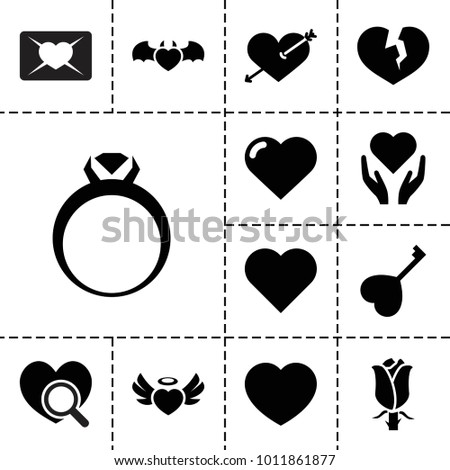 valentine icons set of 13