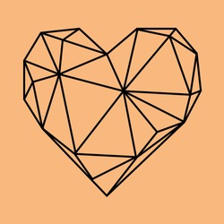 valentine love post card