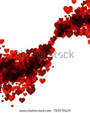 valentine's abstract love