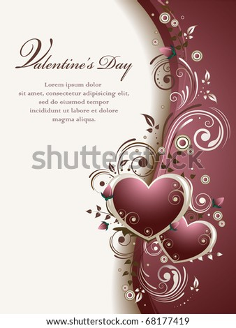 Valentine's Background