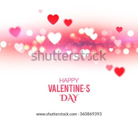 valentine's background with