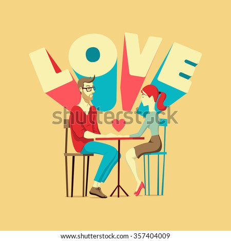 valentine's card romantic