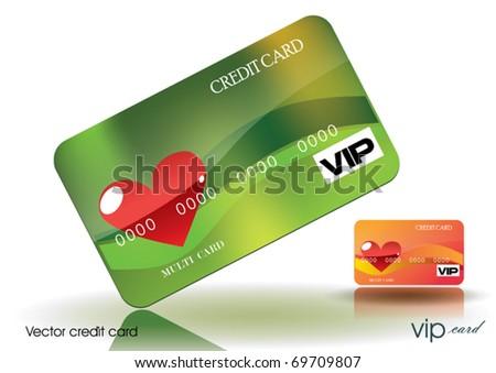 Valentine's Credit Card