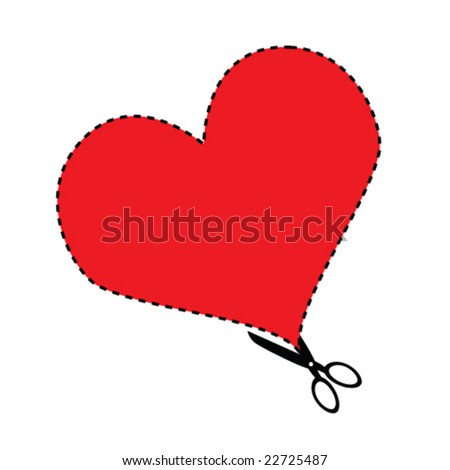 Valentine's Cut-out (Vector)