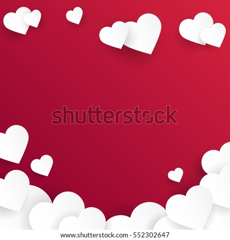 valentine's day abstract