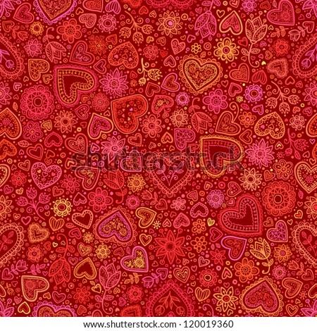 valentine's day artistic hand