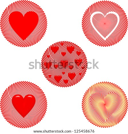 Valentine's Day badge