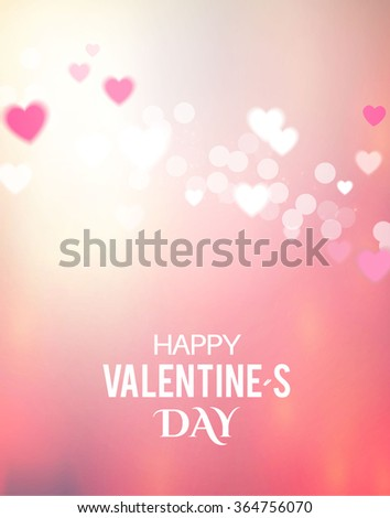 valentine's day blur   glow