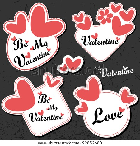 Valentine`s Day card
