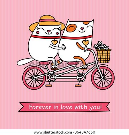 valentine's day card cartoon