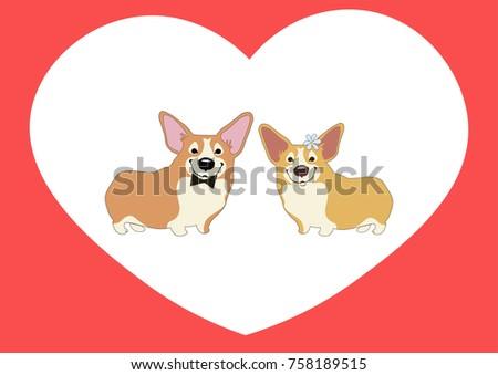 valentine's day card love cute