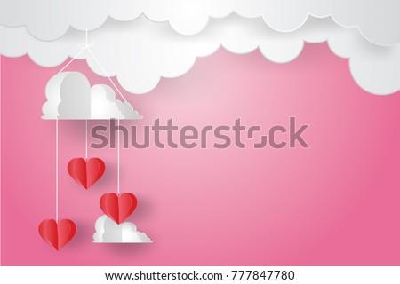 valentine's day conceptpaper