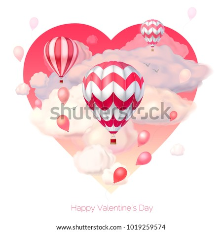 valentine s day 3d vector