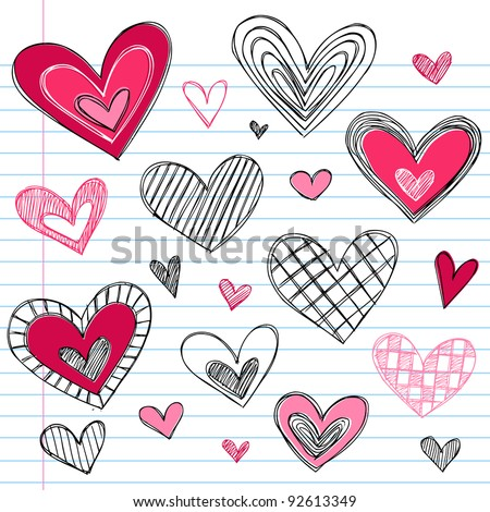 valentine's day hearts   love
