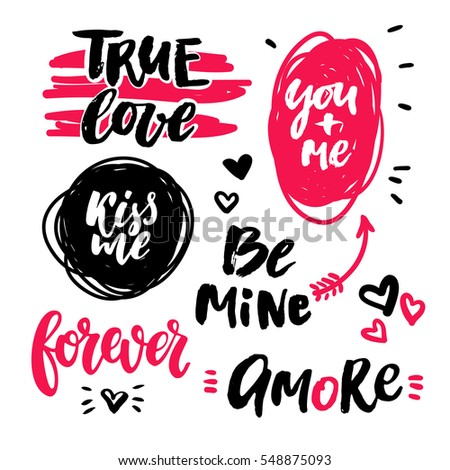 valentine s day lettering