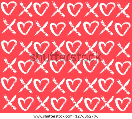 valentine's day pattern
