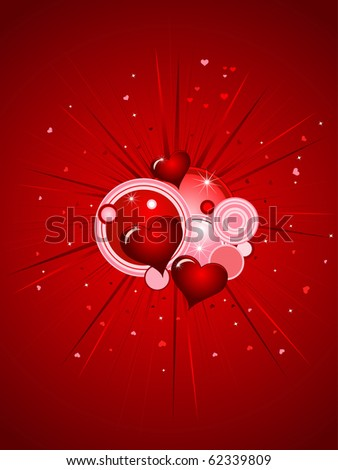 valentine's day, vector design