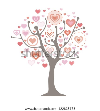 Valentine`s Day vector illustration.